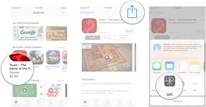 How to gift and redeem apps and gift cards in the App Store - AppleBase